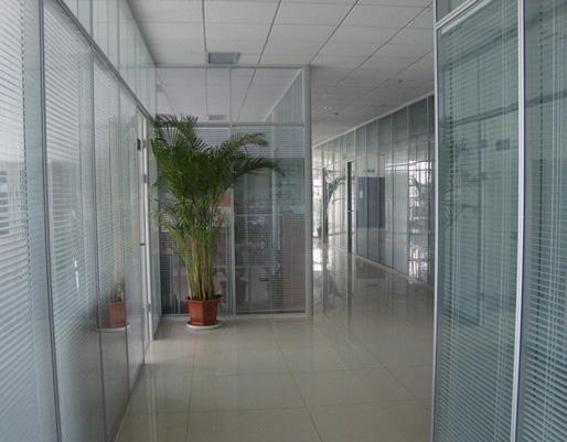 中空百叶玻璃隔断
