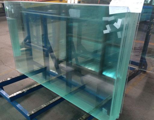 超白钢化玻璃成品