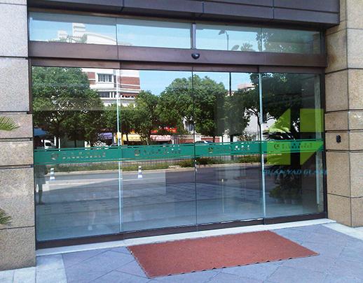 钢化玻璃自动门