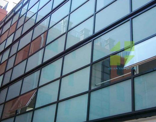 明框幕墙玻璃