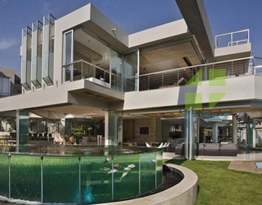豪华别墅玻璃