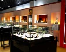 名品店玻璃展柜