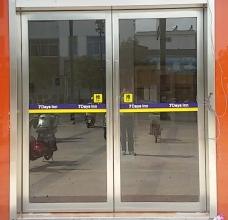 昆山自動感應門地彈簧玻璃門